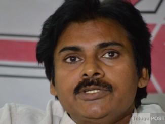 Hyderabad: Jana Sena chief and actor Pawan Kalyan addresses a press conference in Hyderabad