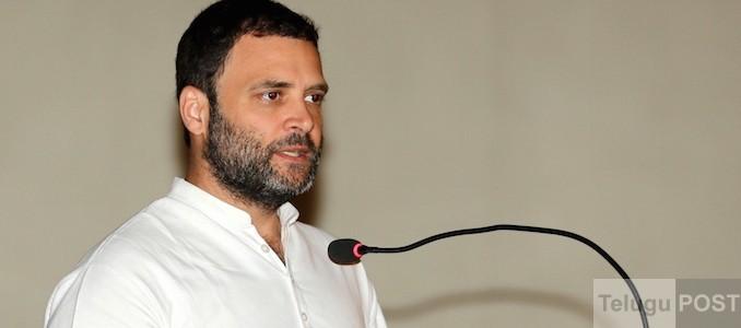 Congress vice president Rahul Gandhi.