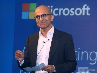 Microsoft Chief Executive Officer Satya Nadella. (File Photo)