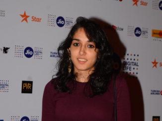 Mumbai: Actor Aamir Khan`s daughter Ira Khan during the book launch of, Music, Masti, Modernity - The Cinema of Nasir Husain at the 18th Jio MAMI Mumbai film festival in Mumbai