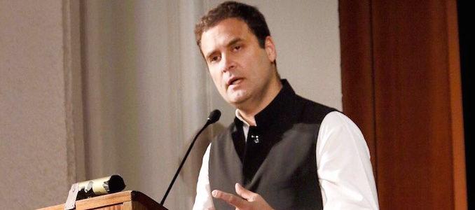 Congress President Rahul Gandhi telugu news