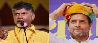 Rahul Gandhi and Chandrababu Naidu