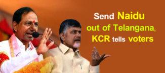 KCR comments on Chandrababu Naidu