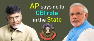 Andhra Pradesh Blocked entry of CBI into the state