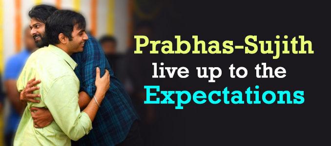 Prabhas and Sujith