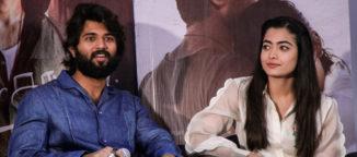Vijay Devarakonda and Rashmika Mandanaa Dear Comrade