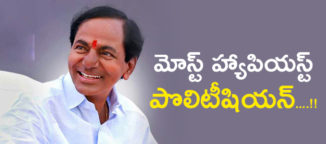 most happiest politician kchandrasekharrao