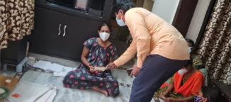 Chiru donation to TNR's wife